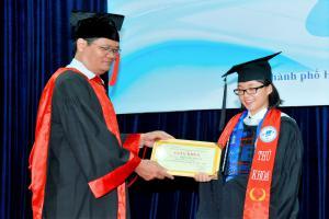 Ảnh tốt nghiệp tháng 9/2016